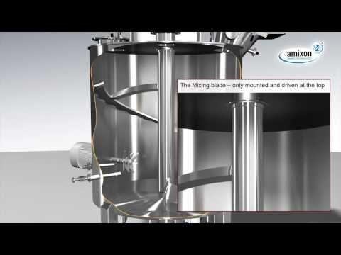 amixon Vertical Mixer Blender, Vacuum Dryer, Reactor