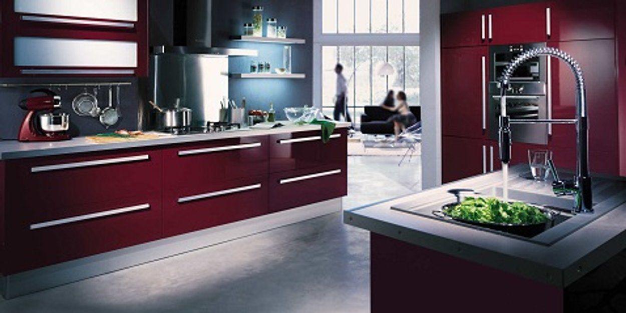 12 Inspirations Deco Pour Une Cuisine Rouge Cuisine Rouge