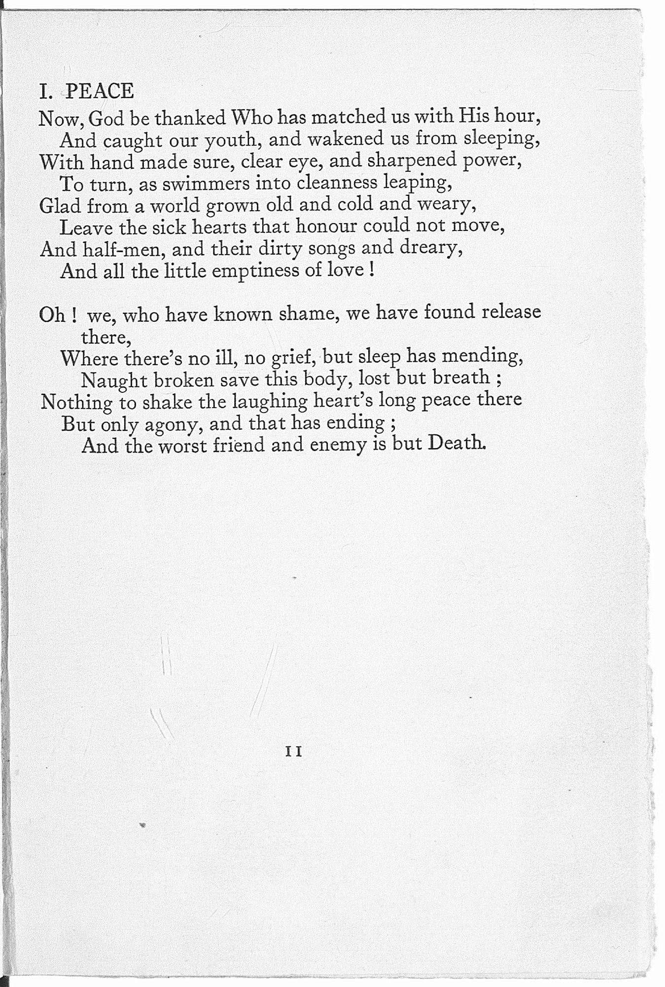 published after rupert brooke died and other poems are  published after rupert brooke died 1914 and other poems are classic examples of war poetry