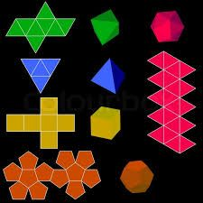 Image result for 3D geometric shapes in art