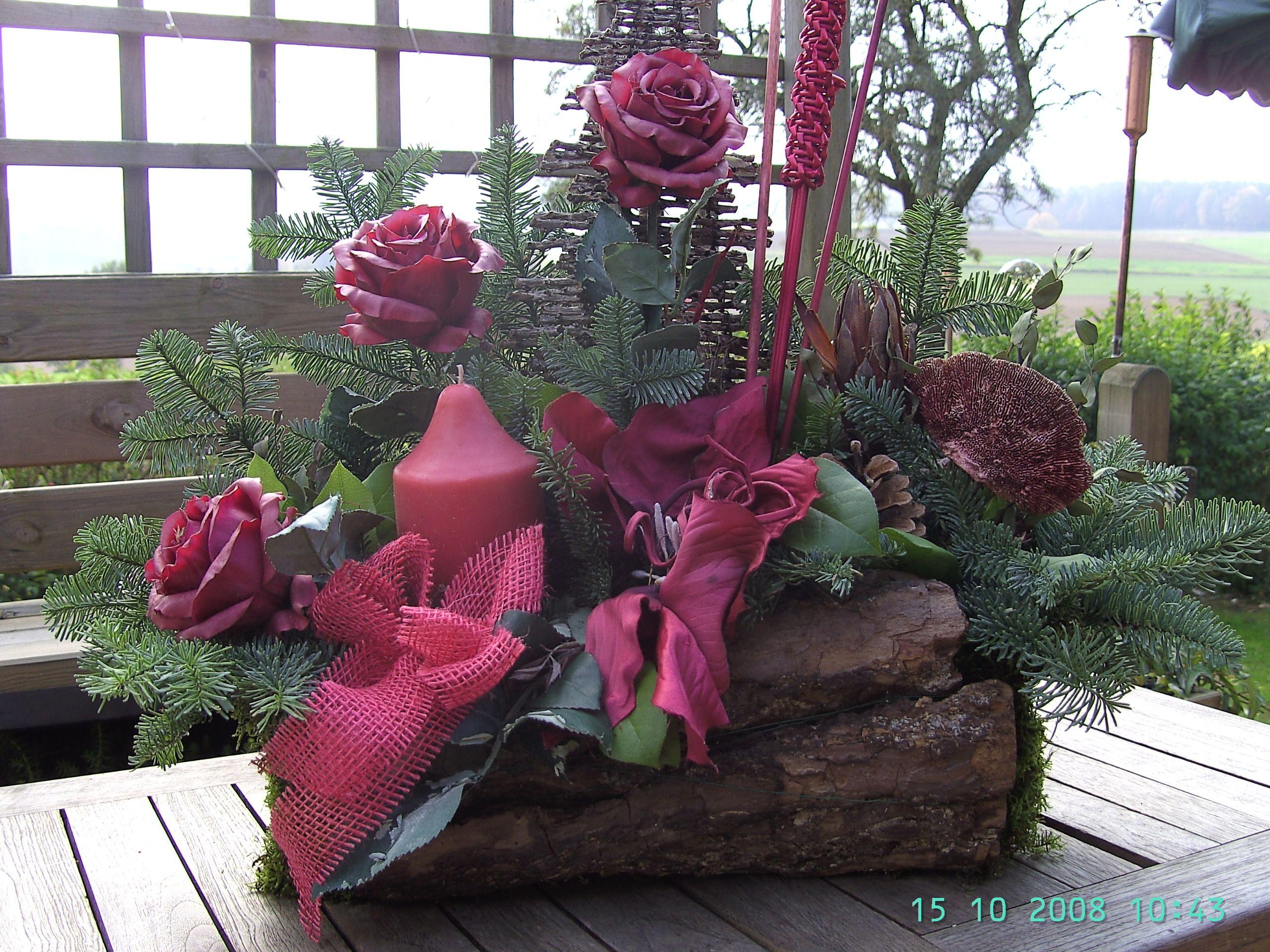 Elegant Baumstumpf Im Garten dekorieren Design