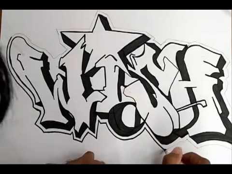Belajar Graffity Wish Di Kertas