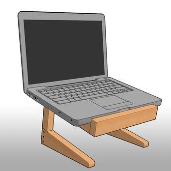 Modern Laptop Stand Plan Www Sawtoothideas Com Laptop Stand