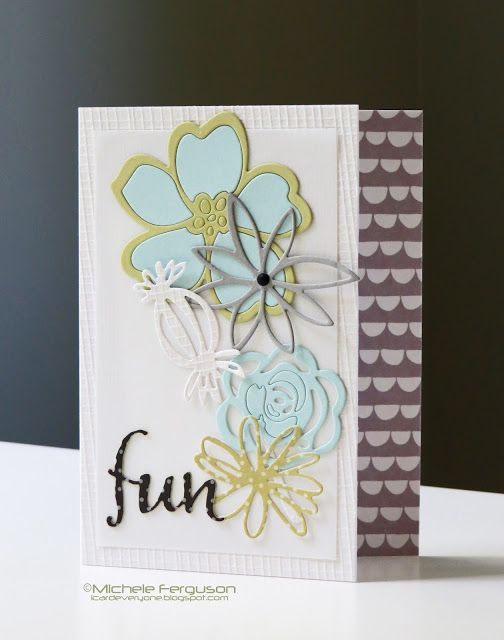 Fun Card from the I Card Everyone blog for the #EllenHutsonLLC Mix It Up…
