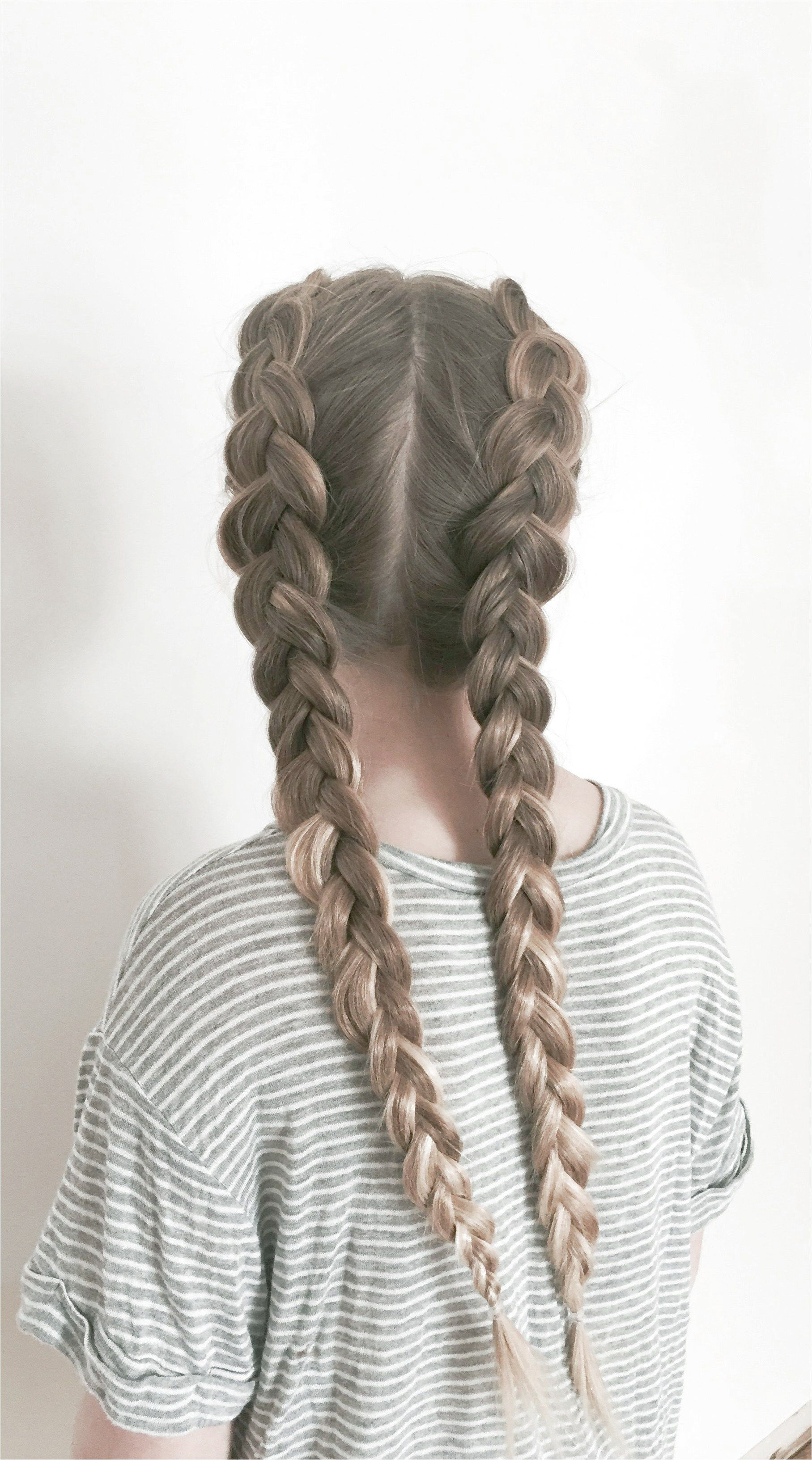 Two Dutch Braids Braidsformediumlengthhair Like What You See Click On The Link To Find Out M Braids For Long Hair French Braid Hairstyles Braids Step By Step