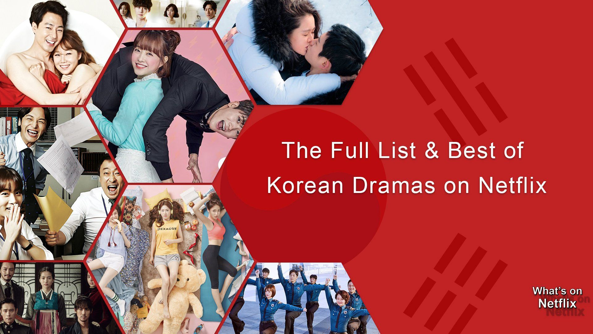 The Full List And Best Of Korean Dramas On Netflix Korean Drama Korean Drama List What Is Netflix