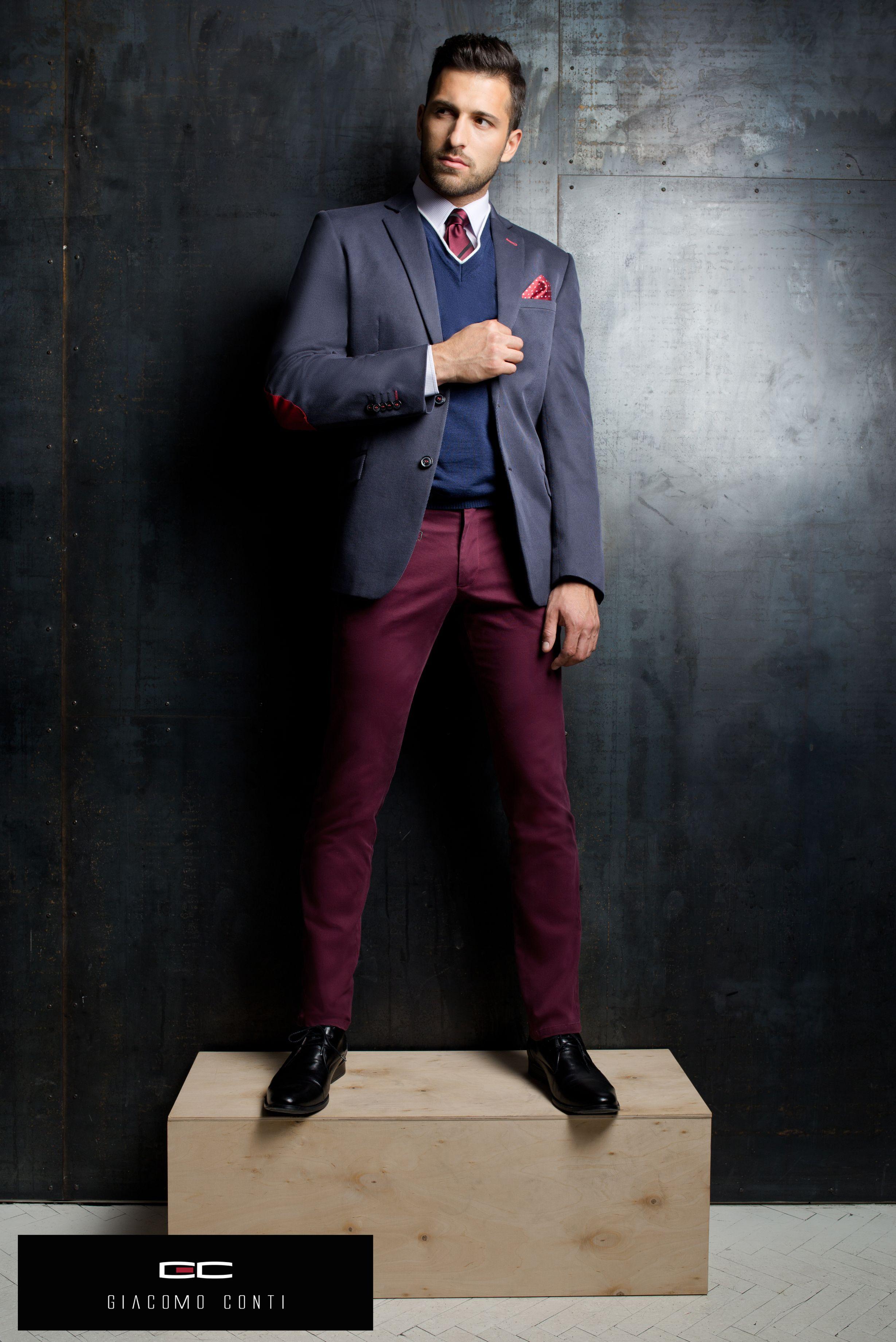 Moda Meska Giacomo Conti Kolekcja Jesien Zima 2014 2015 Kampania Z Udzialem Mistera Polski Rafala Maslaka Giacomoconti Mens Fashion Fashion Mens Suits
