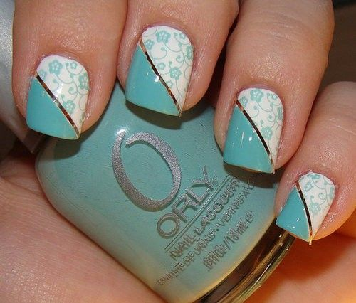 Teal Orly.