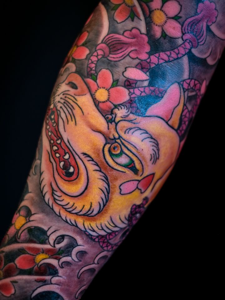 fox kitsune irezumi japanese tattoo | Japanese Tattoos ...