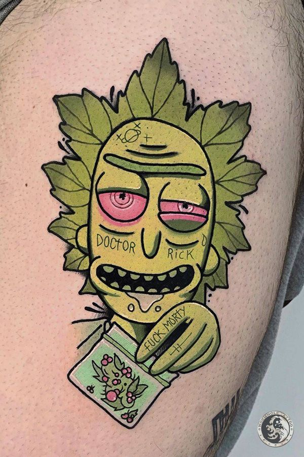 Pin by 滿 唐 on cool Simpsons tattoo, Cartoon tattoos