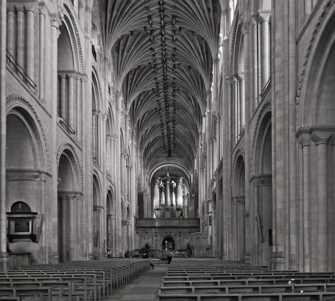 Interior Norwich Cathederal: Photo by Photographer Ken Barrett - photo ...