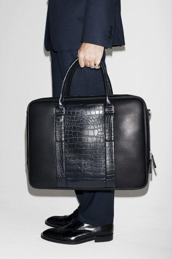78aaa52fbc leather laptop case August - Man - Lookbook - ZARA United States ...