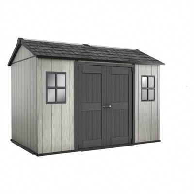 Keter Storage Tool Garden Shed 235393 My Shed 7 1 2 Ft X 11 Ft Fully Customizable Storage Shed Plasticgardensheds Shed Storage Shed Plans Shed