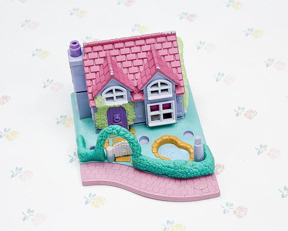 House Toys For Girls : Vintage polly pocket dance studio pollyville compact toy house
