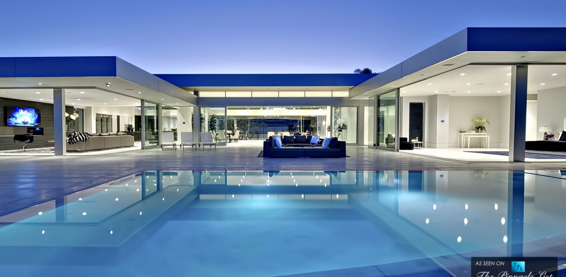 25 5 million luxury residence 1620 carla ridge beverly for Luxury homes in beverly hills ca