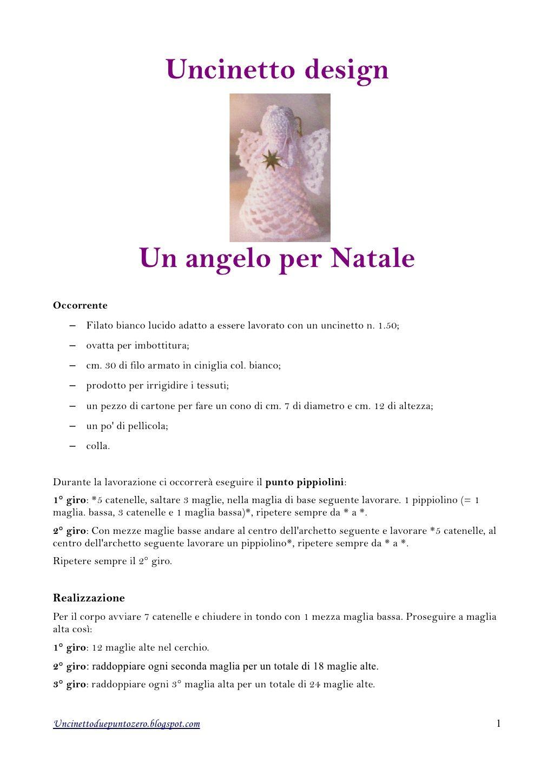 Come fare angioletto a uncinetto (amigurumi)- Video Tutorial. | 1449x1024