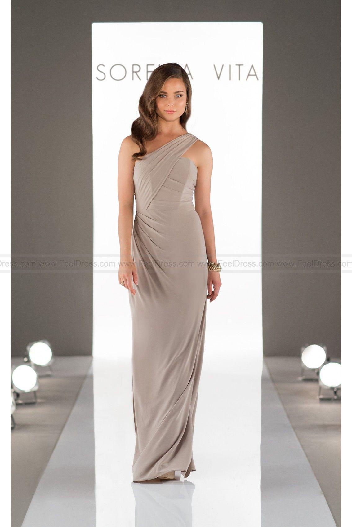 3c4f05404ea Sorella Vita One-Shoulder Sexy Bridesmaid Dress Style 8852