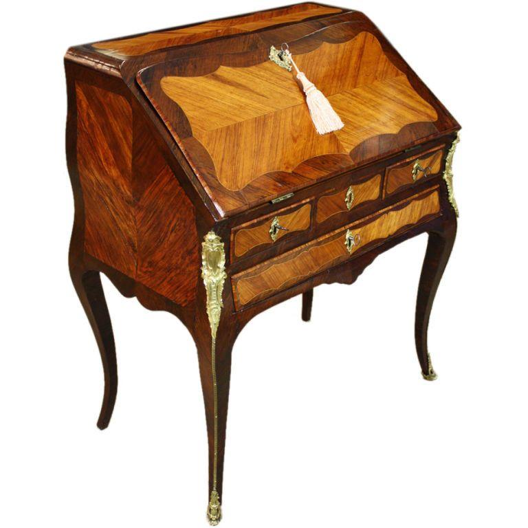 Louis Xv Period Slant Top Desk 1stdibs Com Furniture French Furniture Louis Xv Furniture