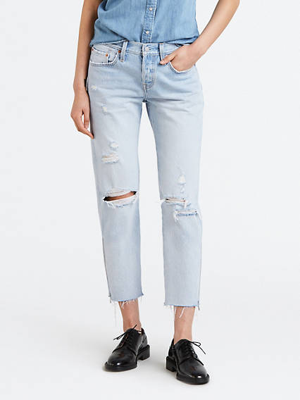 Levi's 501 Taper Jeans | Tapered jeans, Jeans, Women