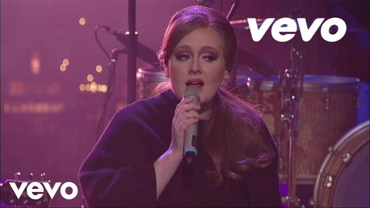 Adele Make You Feel My Love Live On Letterman How Are You