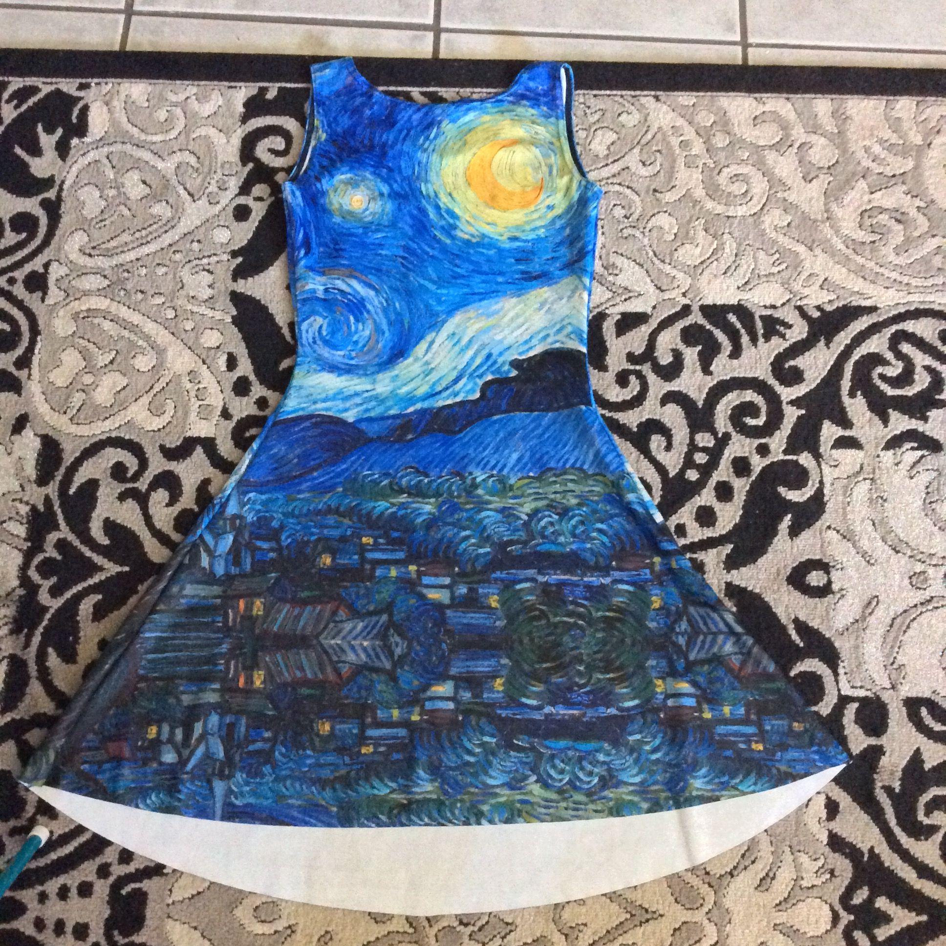 Starry Night Play Dress 2014 Brisbane Sample Sale
