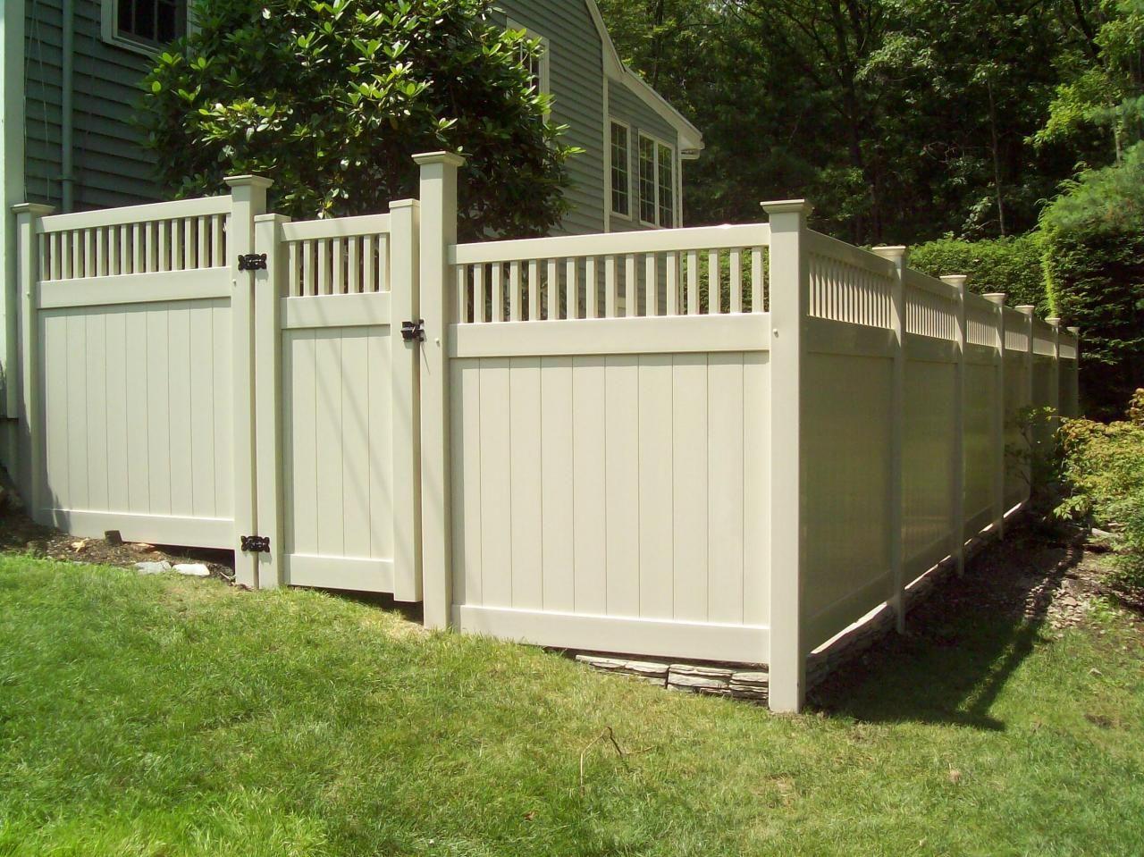 Vinyl Fencing Properties | Ask the Builder | Outside | Pinterest ...