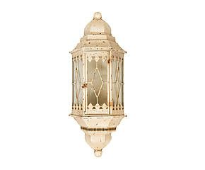 Lanterna Parete Esterno : Lanterna elettrificata da parete in ferro e vetro france