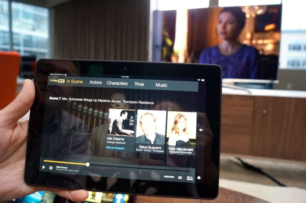 Amazon Debuts Second Screen Tv Experience For Kindle Hdx But