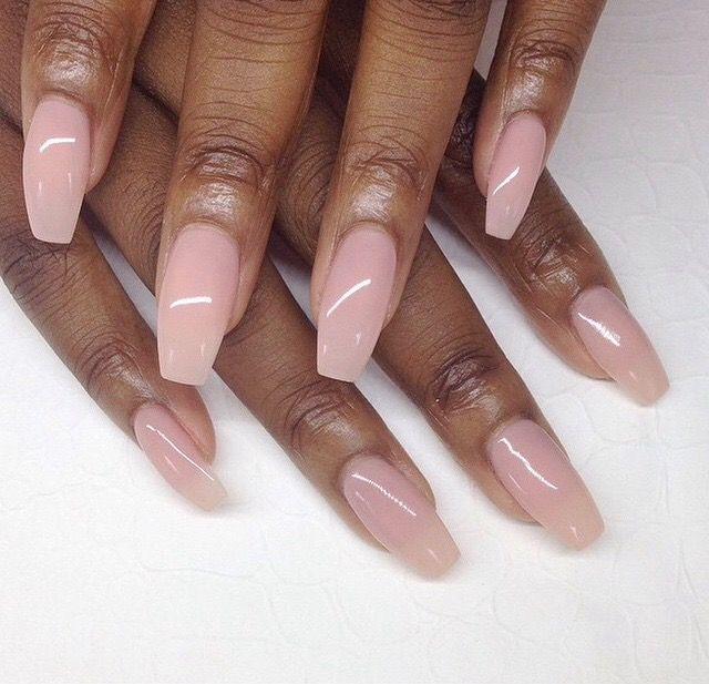 Pink White Nails Black Women Pink White Nails Girls Nails Trendy Nails