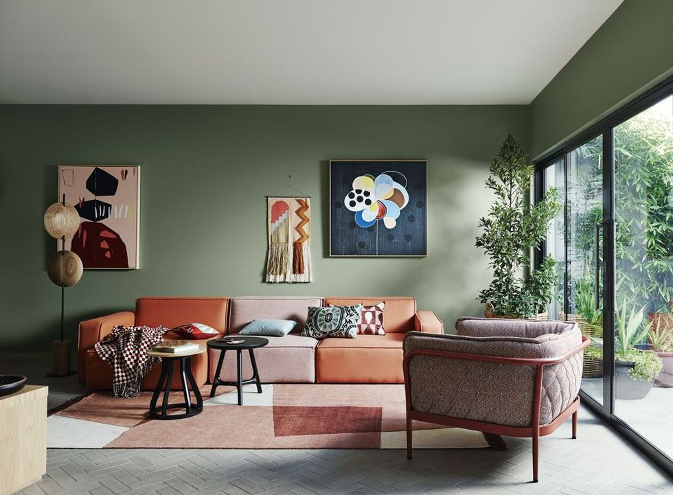Your living room deserves decorating attention. Be inspired by our edit of the best looks -   16 sage green living room color scheme ideas