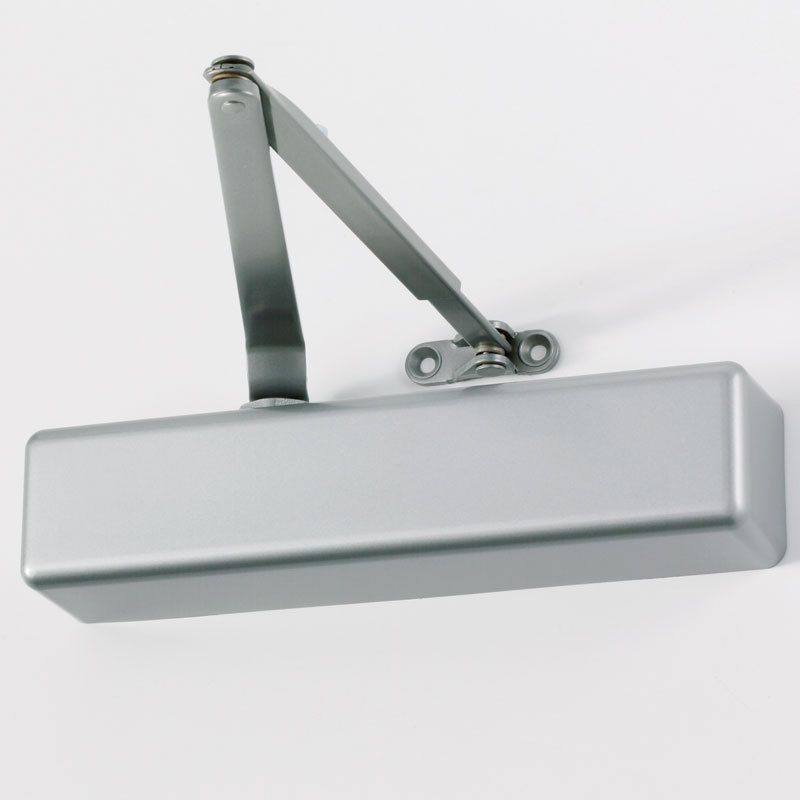 Tell Manufacturing Grade 3 Silver Commercial Door Closer Dc100001
