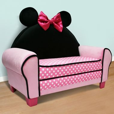 Minnie Mouse Couch Would Be Really Cute In Her Playroom