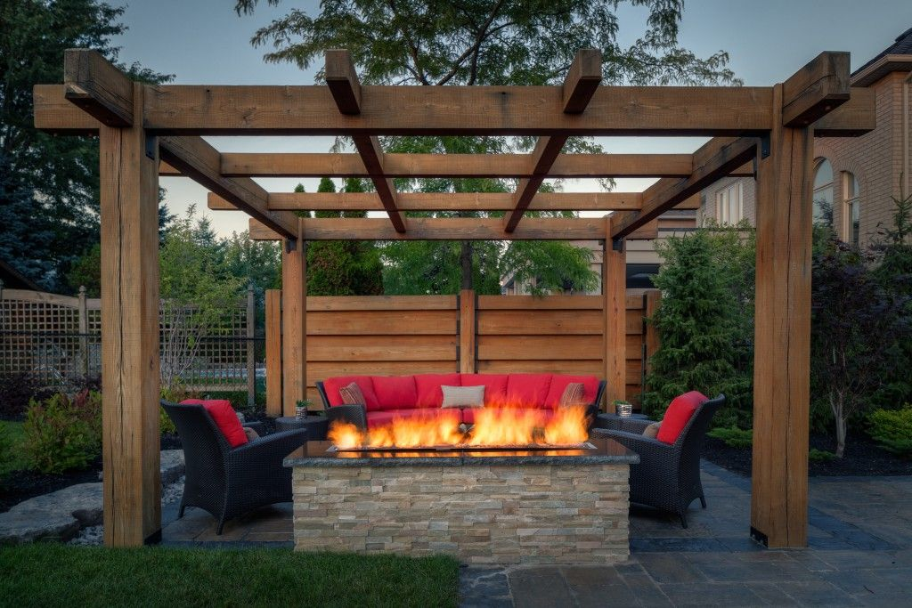 Outdoor Fire Pit Designs Under Pergola Outdoor Fire Pits Fireplaces Grills Outdoor Fire Pit Designs Gazebo With Fire Pit Backyard Fire