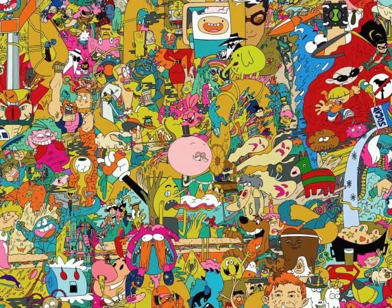 Set Wallpaper On Kindle Fire Of Cartoon Network Characters Wallpaper For Amazon Kindle Fire Hd 7 Cartoon Wallpaper Cartoon Wallpaper Hd Trippy Cartoon