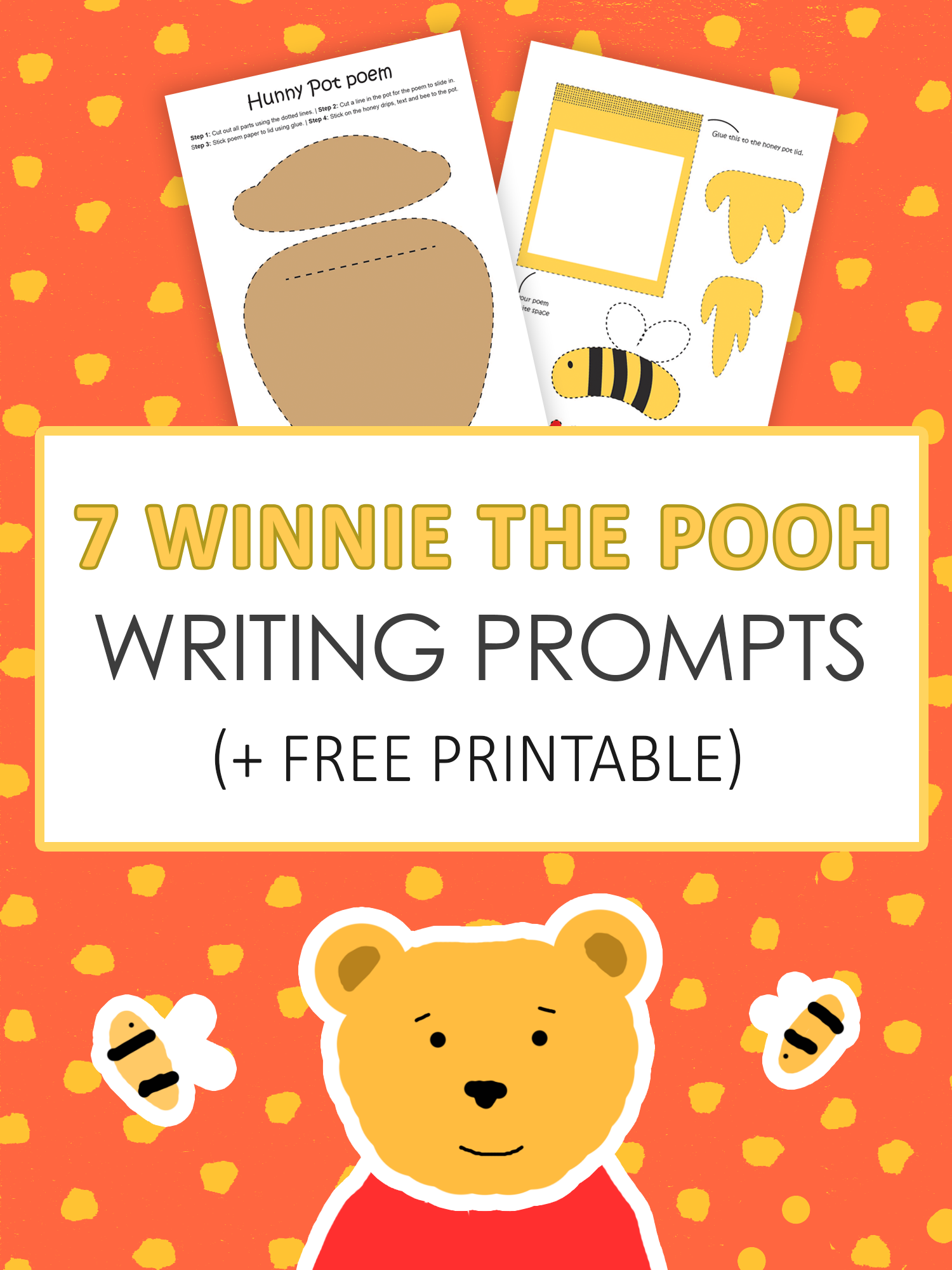 7 Winnie The Pooh Writing Prompts