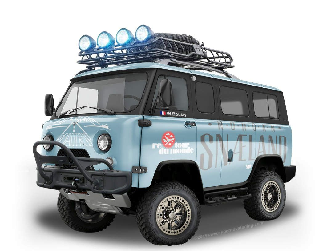 UAZ-452 (Loaf): photos and descriptions, specifications, dimensions 69