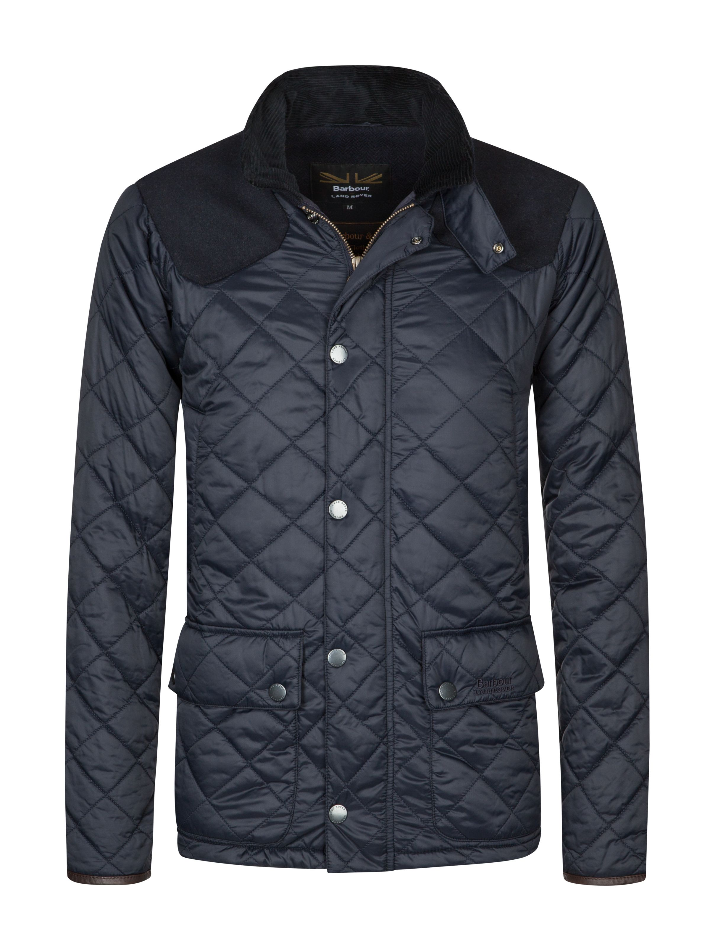 Barbour land rover steppjacke