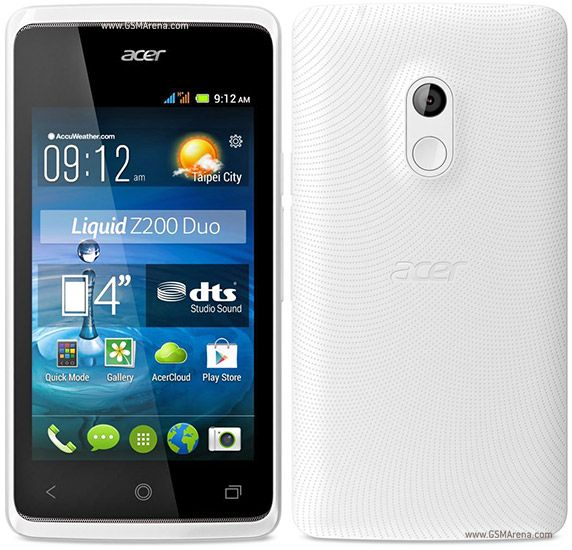 ACER LIQUID Z200 Z205 MT6572 ANDROID 442 FIRMWARE FLASH FILE Acer Liquid
