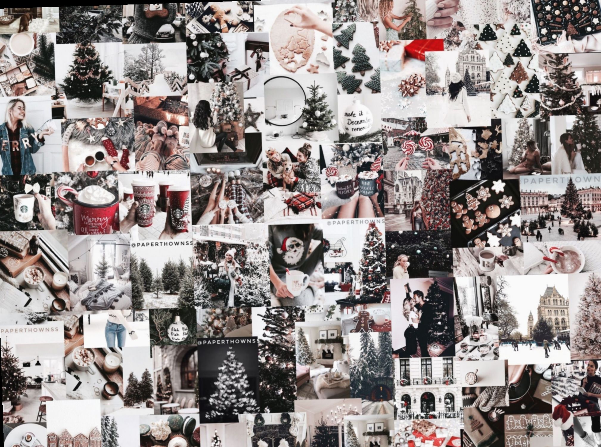 Wallpaper Ipad Winter Xmas Animal Dark Iphone In 2020 Christmas Collage Xmas Wallpaper Ipad Wallpaper