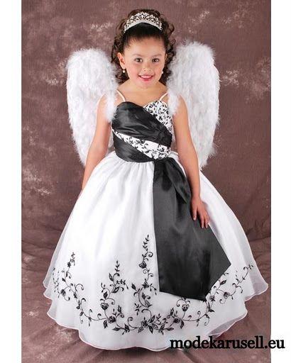 Kinder Mode Engelchen Blumenmädchen Kleid www.modekarusell.eu | mode ...