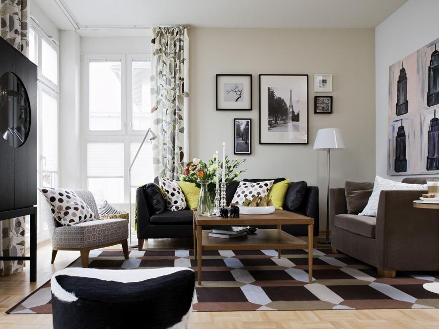 Wohnzimmer einrichten ikea  Mongstad Spiegel mit schwarzem Rahmen | Ikea | Pinterest | Ikea ...