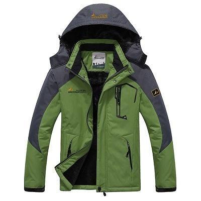 8138781a7 2018 Men's Winter Inner Fleece Waterproof Jacket Outdoor Sport Jackets -  Creationsg Mens Hiking Jacket,