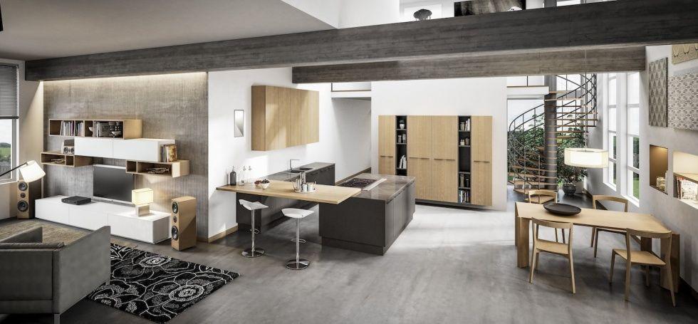 PLAN | Cucine moderne | Berloni | κουζινα | Pinterest