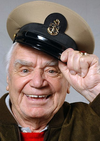 """R.I.P. Ernest Borgnine, who delivered an Academy Award-winning performance as the lonely Bronx butcher looking for love in the 1955 drama """"Marty"""" and displayed his comic side in the 1960s as the star of the popular TV sitcom """"McHale's Navy,"""" has died. He was 95. 7/8/2012"""