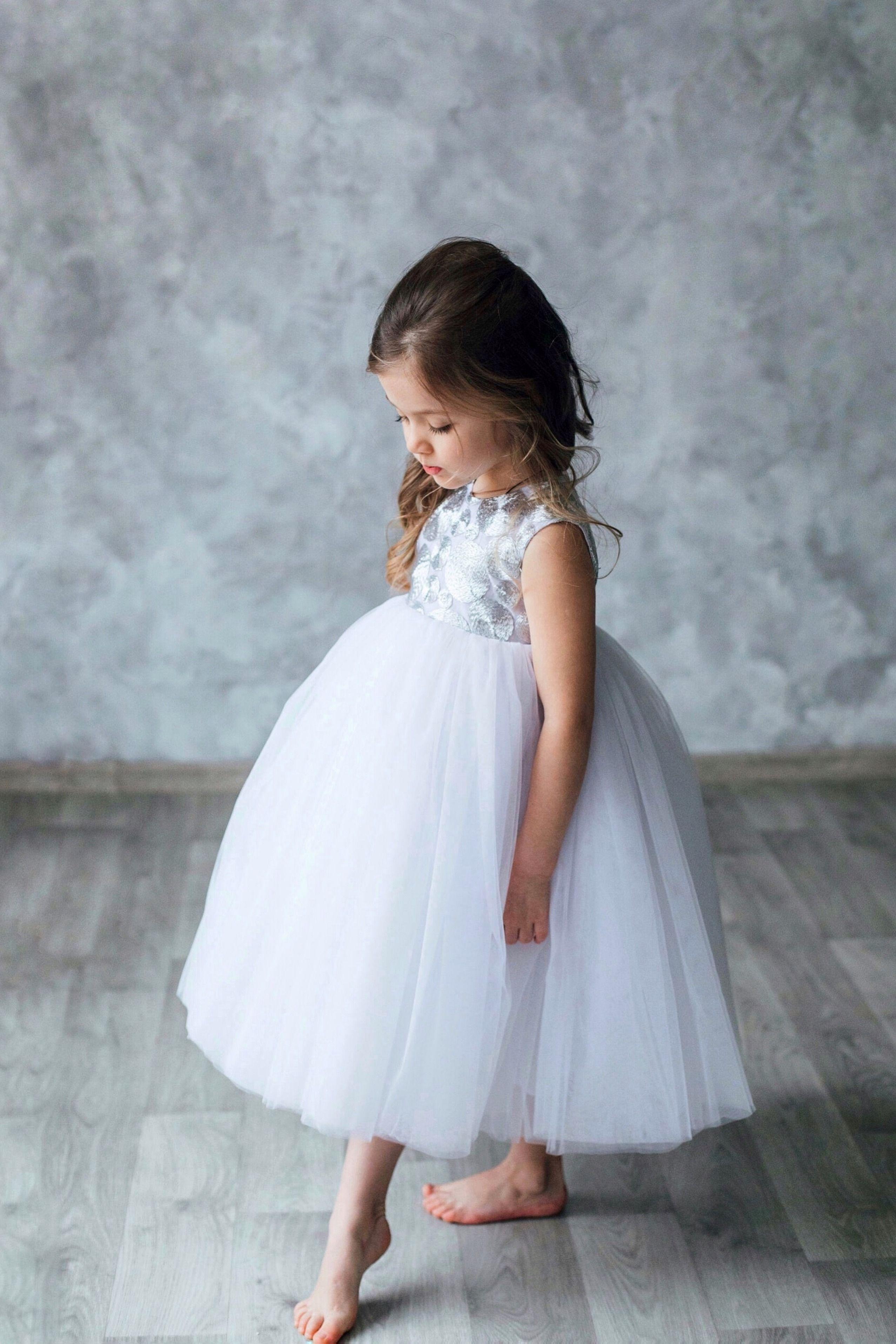 5+ Luxury Girls White Easter Dresses