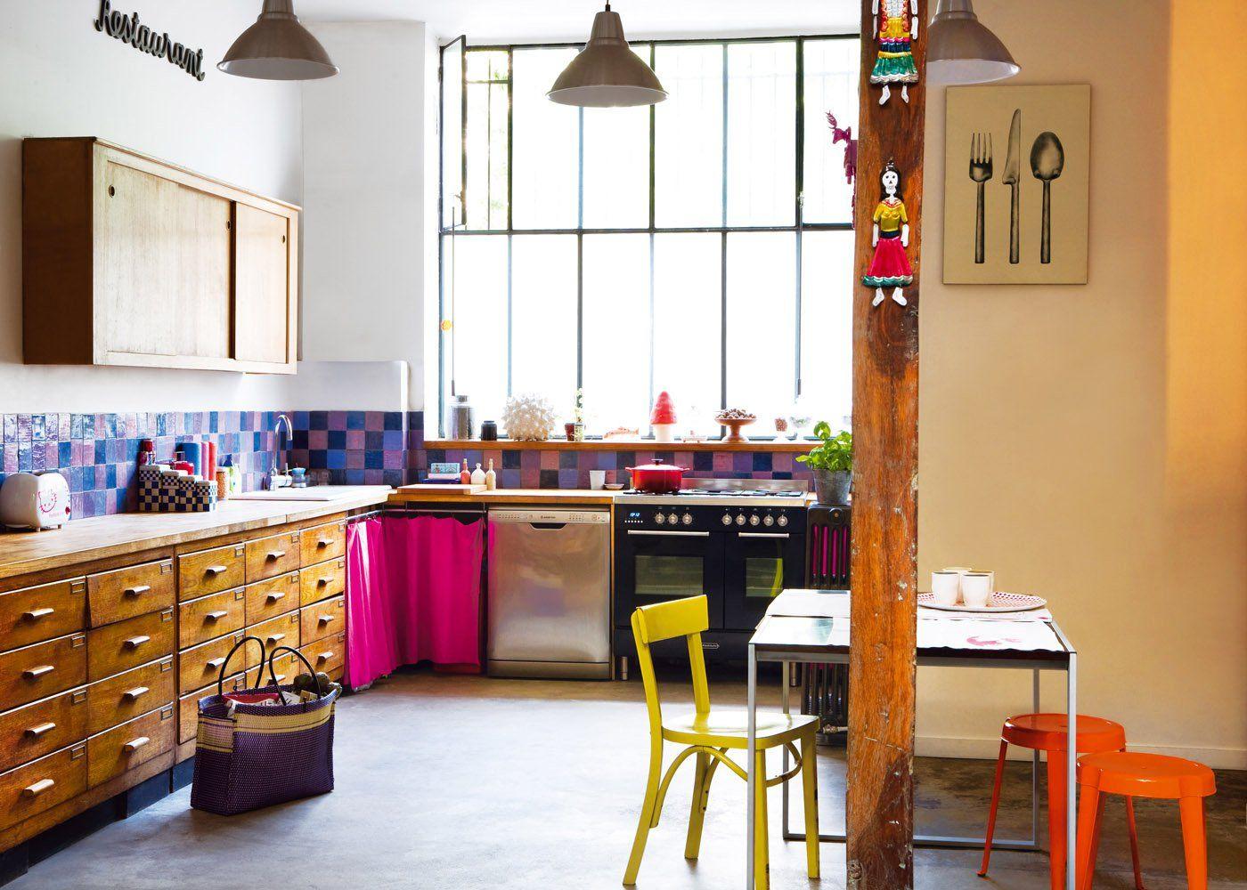 Meuble De Cuisine Industriel 10 inspirations à copier pour une cuisine industrielle