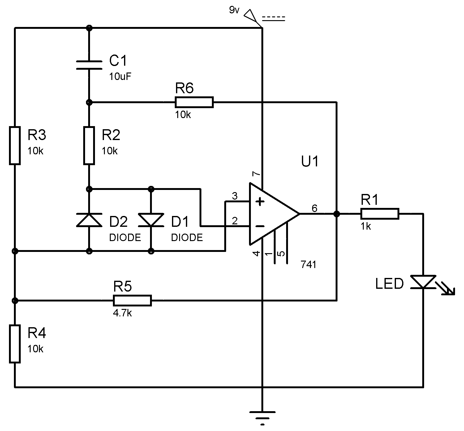 medium resolution of operational amplifier opampic741 looks like a small chip the 741 ic op amp comprises of eight pins in an ic 741 op amp pin2 and pin6 are the input and