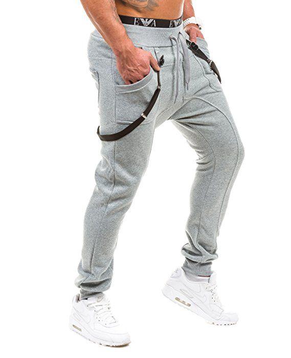 Bolf Hombre Pantalones Jogging Gym Tiempo Libre Bolsillos Bbg 1106 Gris M 6f6 Amazon Es Ropa Y Accesorios Jogger Pants Style Sweat Trousers Sport Outfits