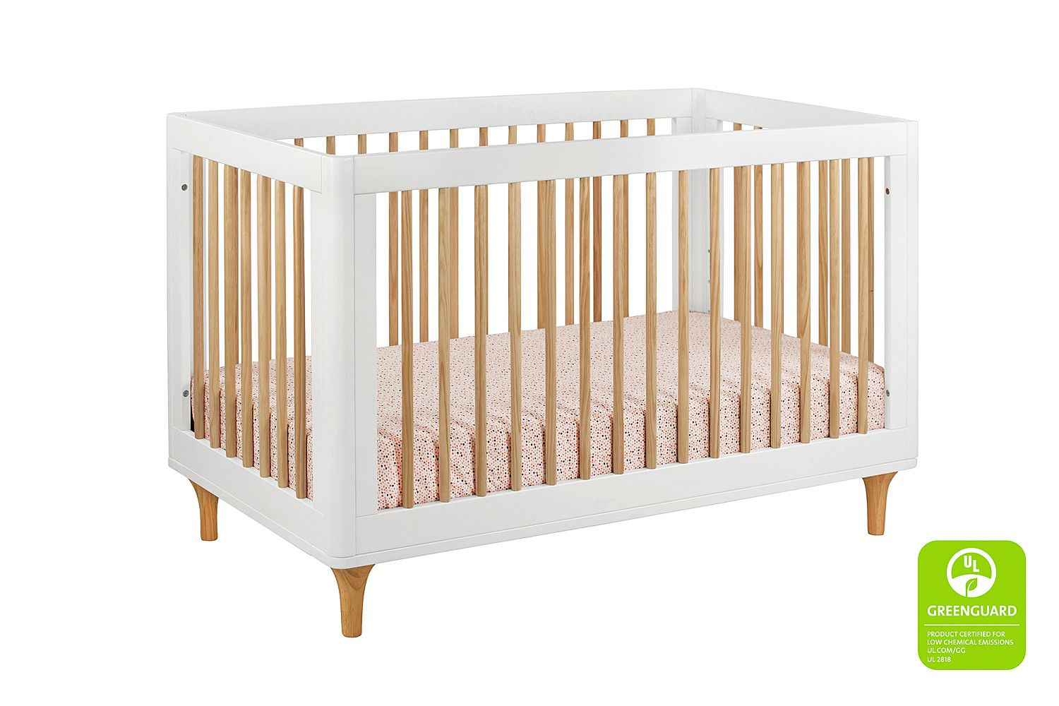 Lolly 3in1 Convertible Crib with Toddler Bed Conversion