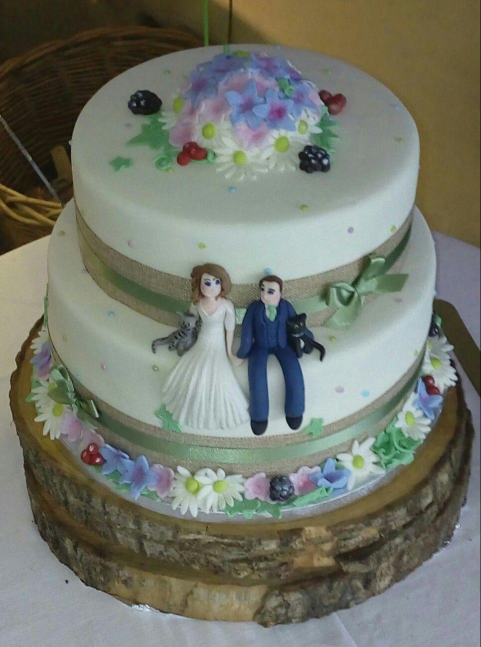 Country wedding cake the crazy cake company pinterest crazy